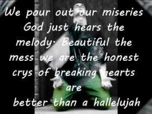 better than a halleluiah