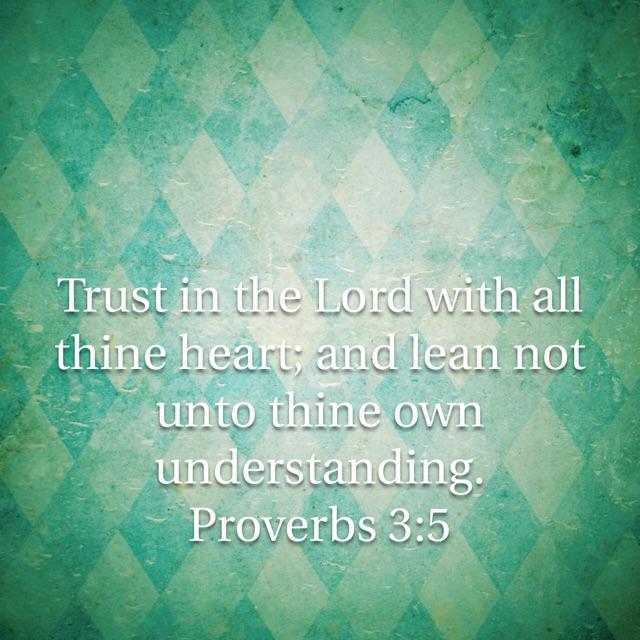 proverbs 3-5